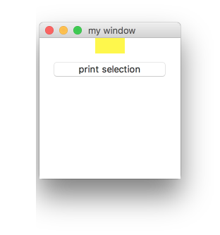 Listbox 列表部件