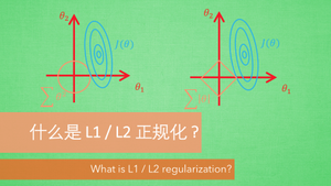 L1 / L2 正规化 (Regularization)
